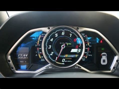 Lamborghini Aventador Top Speed run!!   YouTube