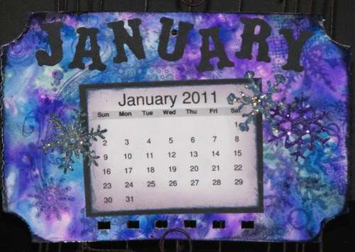 Ranger Calendar - Alcohol Inks 021