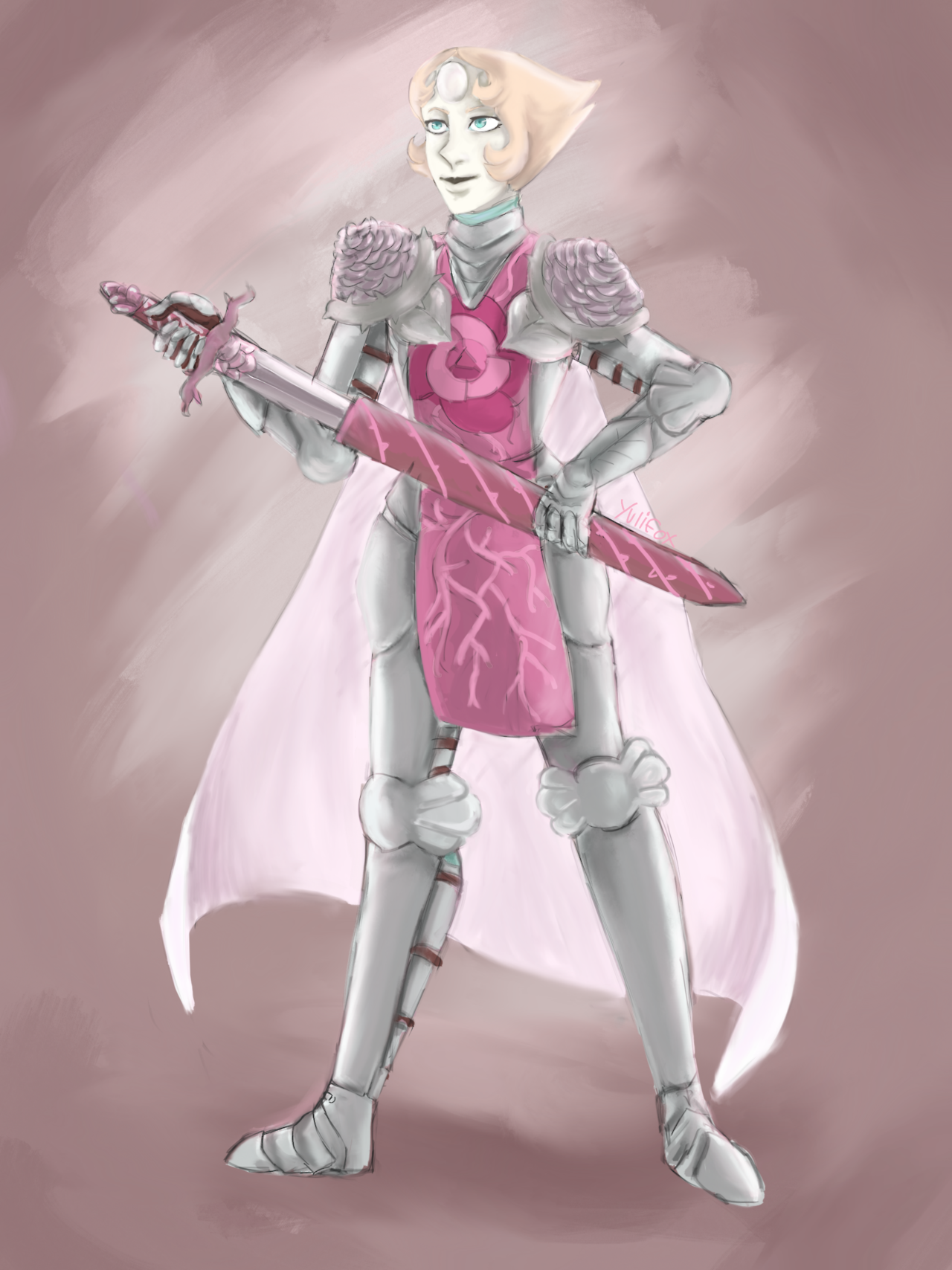 Unfinished Knight Pearl