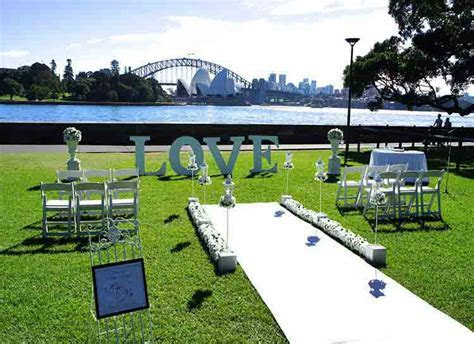 Multi Awarded Outdoor Ceremony Styling Sydney   Adorable