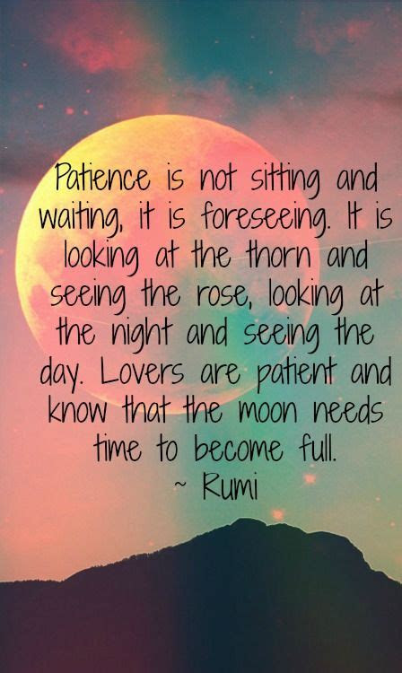 Patience Love Quotes Poems
