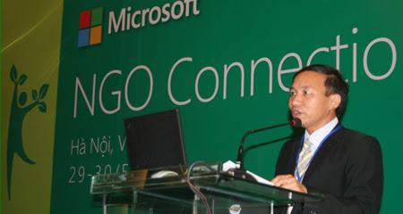NGO, tổ chức phi chính phủ, Nguyễn Trọng Đường, Bộ TT&TT, Microsoft, TechSoup