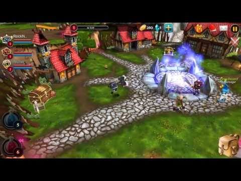 Elements: Epic Heroes Android Gameplay