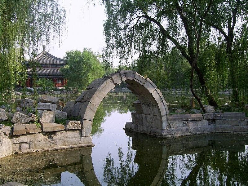 File:Stone Arch Bridge in Yuanmingyuan.jpg