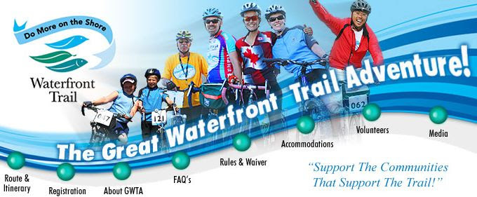 great waterfront trail adventure