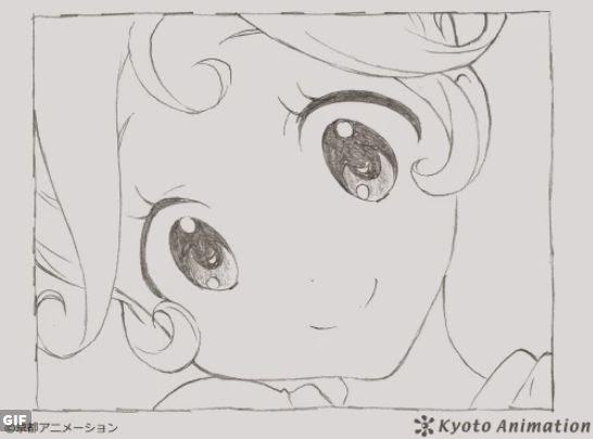 すげえ京アニ公式ツイッターが5万フォロワー突破記念のgifアニメを投稿