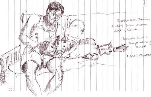 Tanush and Grandpa