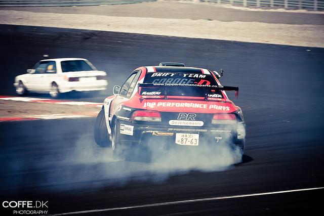Drifting Subaru Impreza STi
