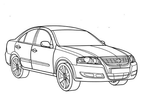 Lowrider Coloring Pictures