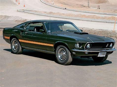 1969 Ford Mustang Original Colors
