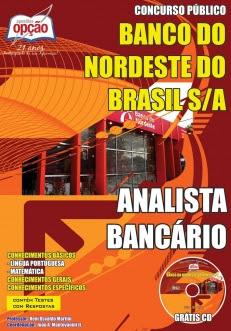 Apostila para Analista Bancário (nível médio) do Banco do Nordeste do Brasil -
