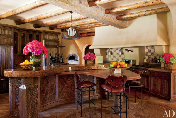 Celebrity Kitchens With Incredible Style Personal Stylist Style