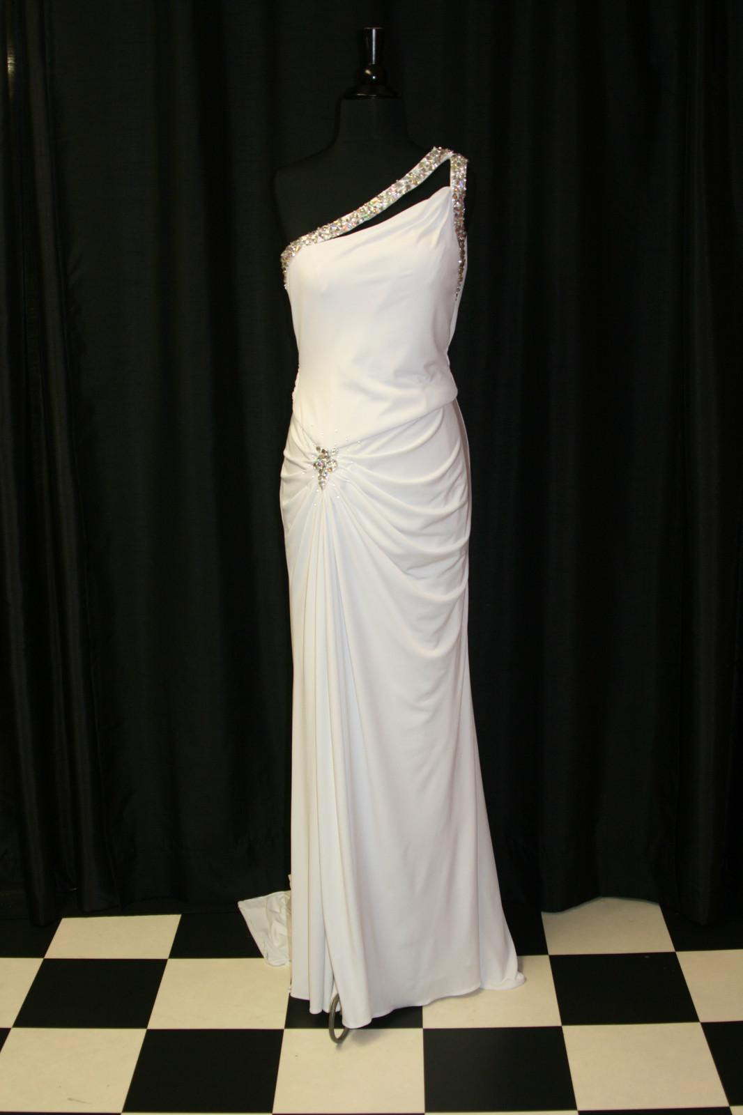 Sale white evening dress
