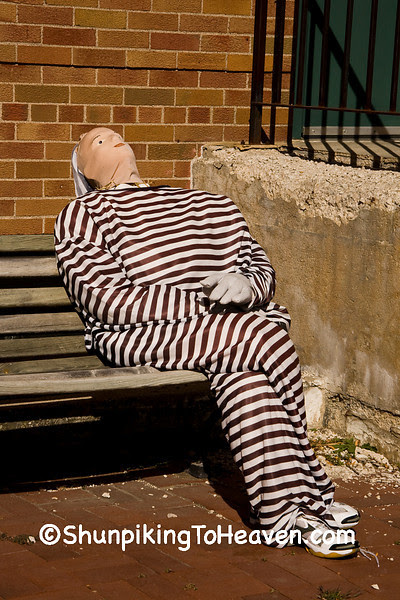 Prisoner Scarecrow Dummy, Ackley, Iowa