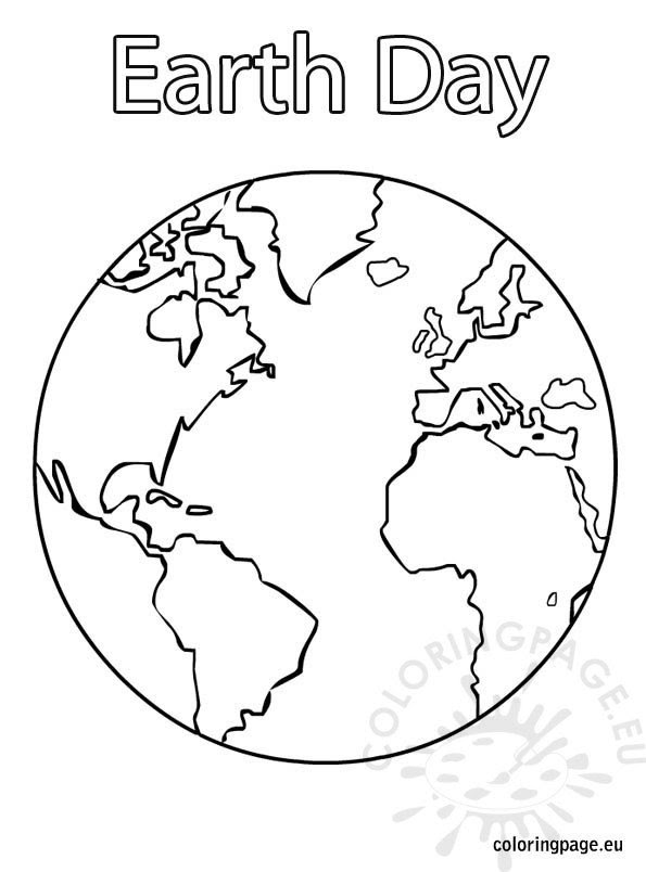 Earth Day coloring page - Coloring Page