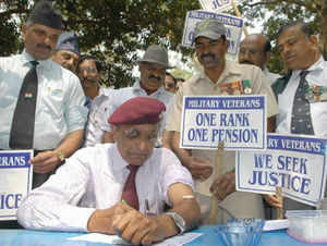 Demand for rolling pension change plan holds up OROP