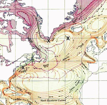 Gulf Stream Flow
