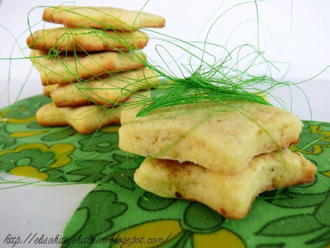 Biscotti limone e rosmarino