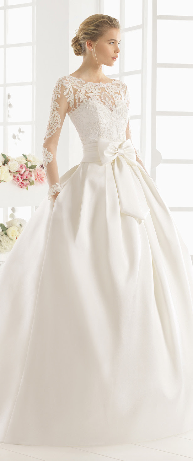 aire barcelona 2016 bridal collection  part 1  belle the
