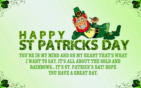 Happy St Patricks Day Quotes 2019 Images Sayings Irish Blessings