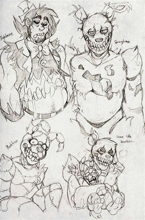 fnaf doodles  blasticheart  deviantart fnaf