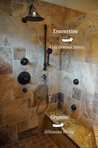 Cleaning And Proper Care For Stone Showers Marble Travertine