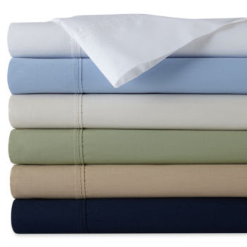 JCPenney - jcp home™ 300tc Easy Balance Sheet Set customer reviews ...