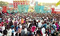Crowd in Bangladesh