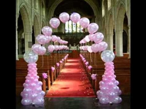 DIY Wedding balloon decorating ideas   YouTube