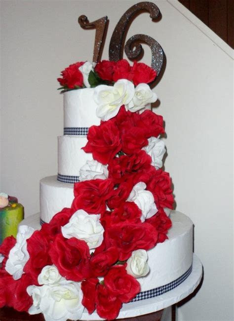 16th Anniversary   Wedding/Anniversary Cakes   Pinterest