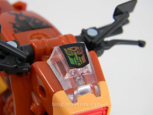 Transformers Wreck-Gar Reveal the Shield Deluxe - modo alterno