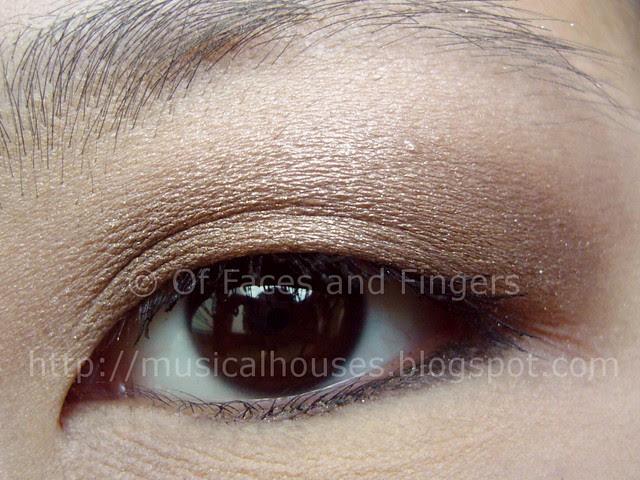 mimididi 3D diamond powder eyeshadow eotd 1