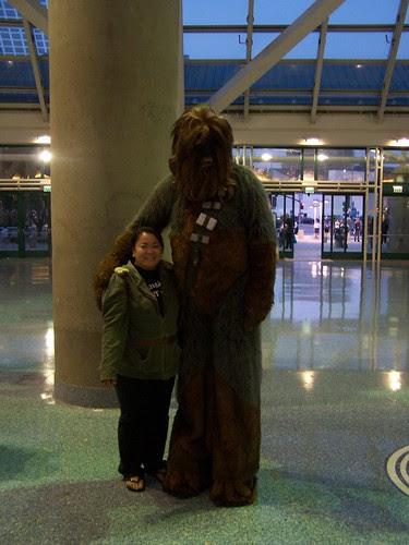 celia and chewbacca
