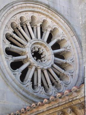 Monasterio de las Huelgas (Burgos). Rosetón