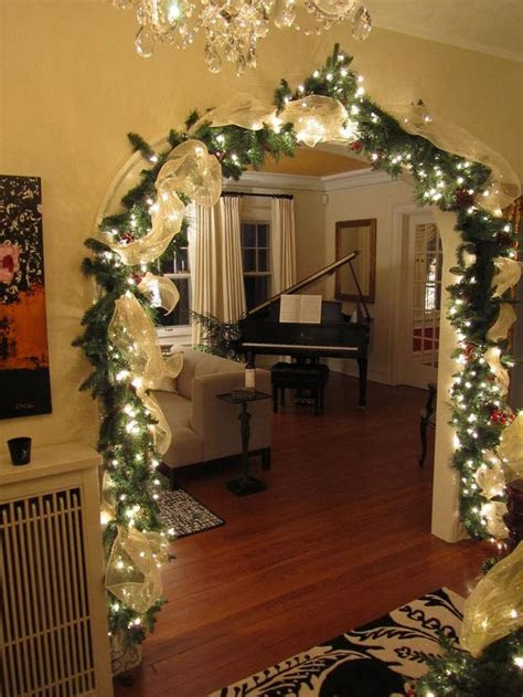 gorgeous indoor decor ideas  christmas lights