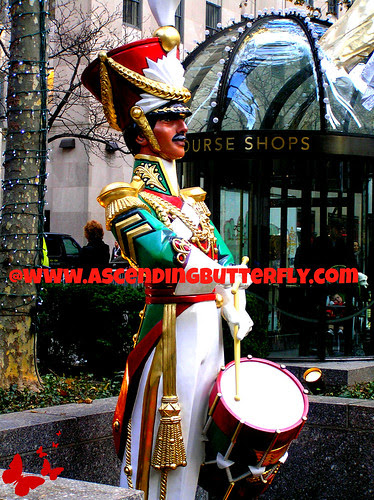 Toy Soldier Rockefeller Center Holidays 2012 WATERMARKED