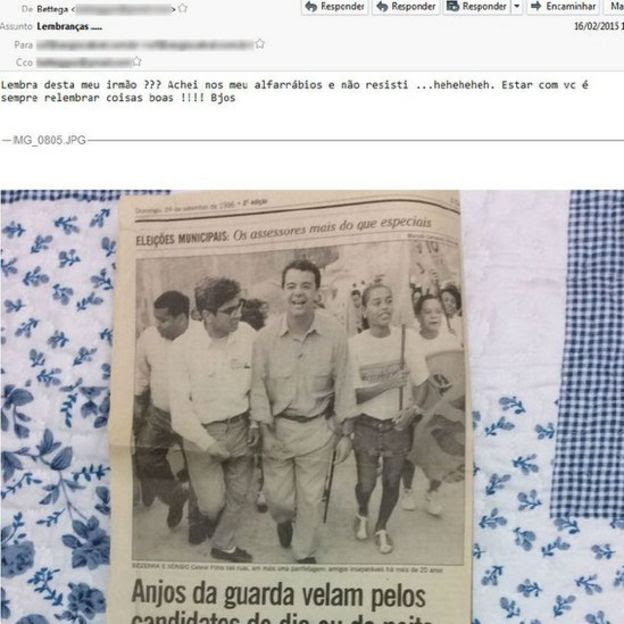 E-mail de Luiz Carlos Bezerra
