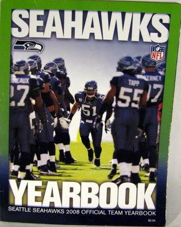 Seahawks Yearbooks, Seattle Seahawks Yearbook, Seahawks Yearbook, Seattle Seahawks Yearbooks