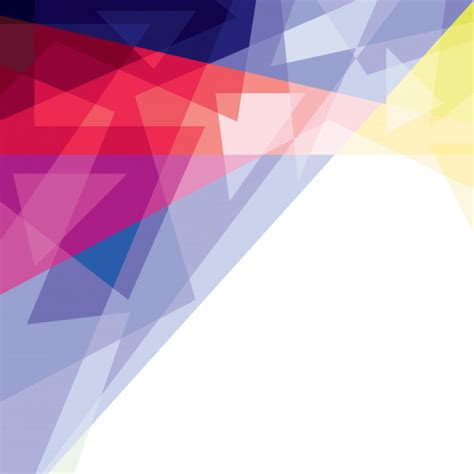 full color abstract background vector premium