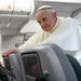 Pope Francis during a press conference on the flight to Italy from Rio de Janeiro.