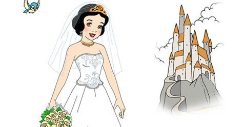 Snow White's Wedding Day Dress Up Game   Disney Princess