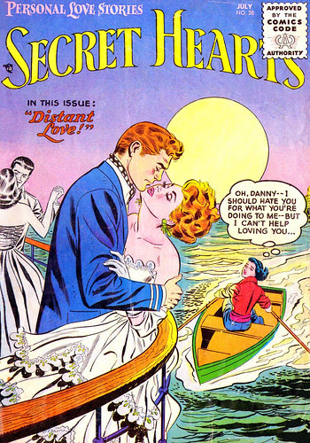 Secret Hearts #28 (Jun-Jul 1955)