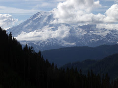 Rainier From Laurel Hill (Snapshot)