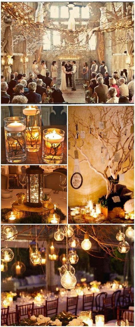 17 Best ideas about Winter Wedding Decorations on