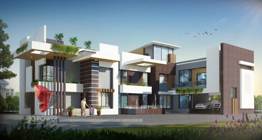 House  Plans  Expansive  Front Views