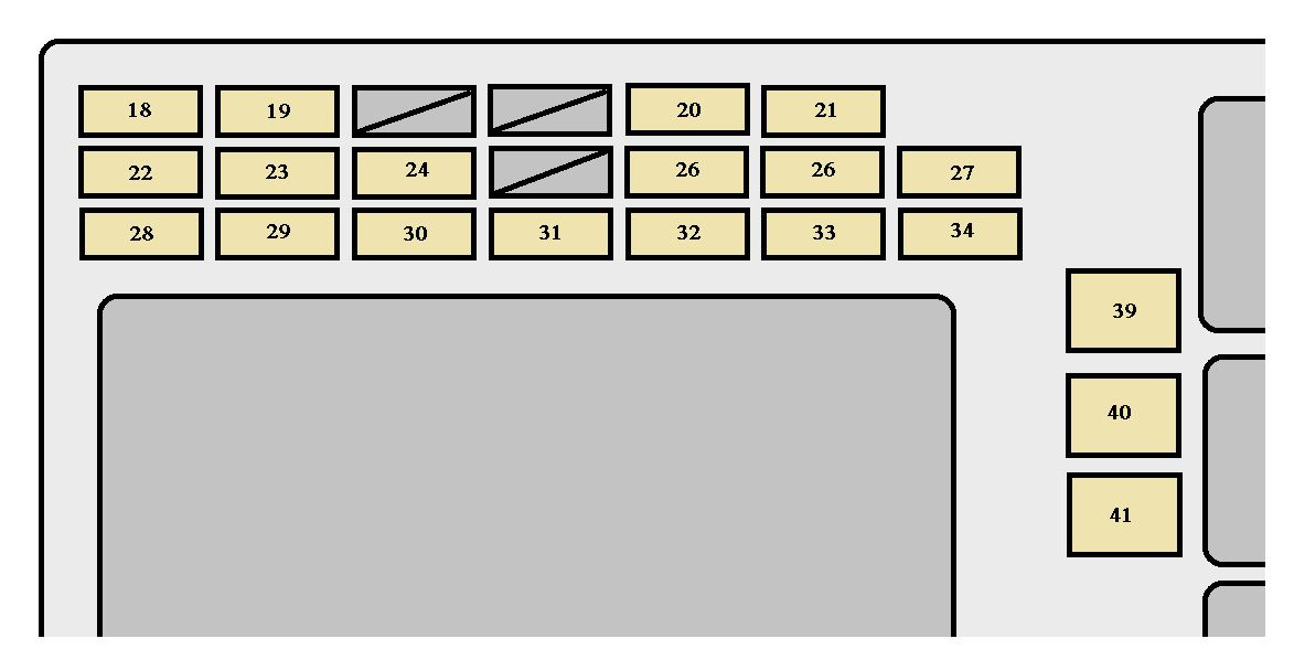 2004 Toyotum Matrix Fuse Box Diagram