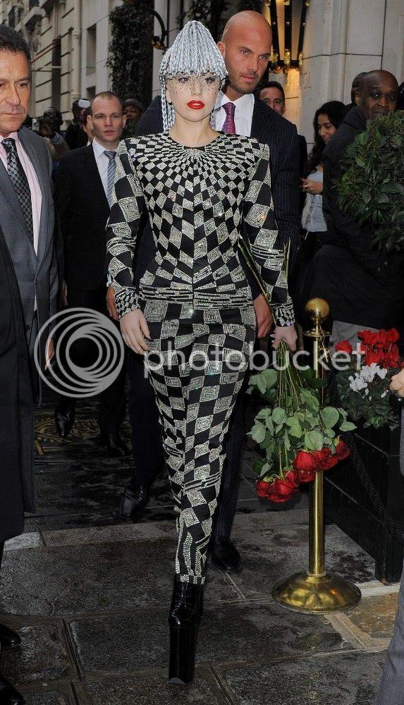 Lady Gaga the mop head...
