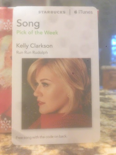 Starbucks iTunes Pick of the Week - Kelly Clarkson - Run Run Rudolph