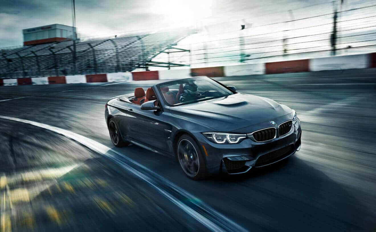 BMW M4 Convertible in Mineral Gray Metallic hd 1080p ...