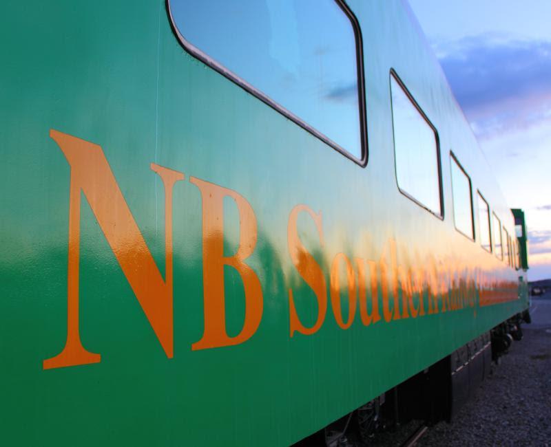 NB Southern Railway passenger car